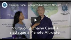 Canal + s'attaque à l'association humanitaire Planète Altruiste